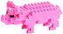 nanoblock create works animal micro-sized building