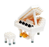 nanoblock white grand piano mini collection