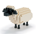 nanoblock sheep create works animal micro-sized