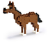 nanoblock horse create works animal micro-sized