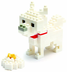 nanoblock terrier create works animal micro-sized