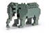 nanoblock elephant create works animal micro-sized