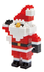nanoblock mini santa create works micro-sized