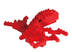nanoblock octopus create works animal micro-sized