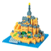 nanoblock mont saint michel create works