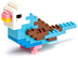 nanoblock parakeet blue create works animal