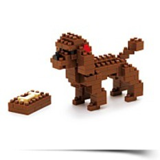 Discount Nano Block A Toy Poodle NBC060