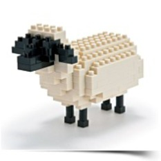 Save Nanoblock Sheep NBC054