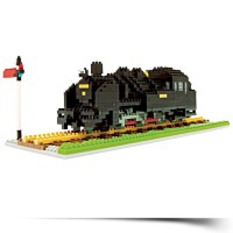 Save Nanoblock Steam Locomotive