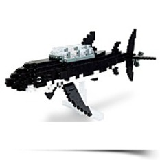 Save Nanoblock Tintin Shark Submarine
