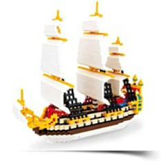 Discount Nanoblock Tintin The Secret