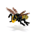 nanoblock asian giant hornet create works