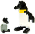 nanoblock penguin create works animal micro-sized