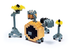 nanoblock drum create works musical micro-sized