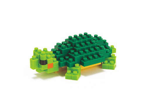 Nanoblock NBC_033 Turtle (red-eared Slider)